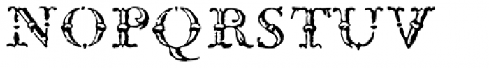 1786 GLC Fournier Titling Normal Font LOWERCASE