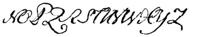 1791 Constitution Font UPPERCASE