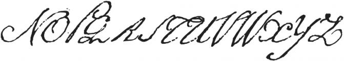 1805 Austerlitz Script otf (400) Font UPPERCASE