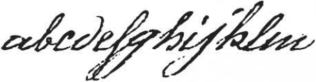 1805 Austerlitz Script otf (400) Font LOWERCASE