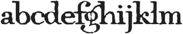1805  Jaeck Map otf (400) Font LOWERCASE
