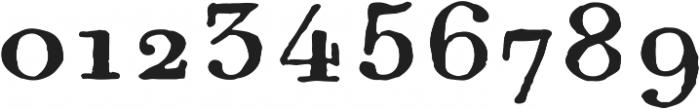 1820 Modern Large ttf (400) Font OTHER CHARS