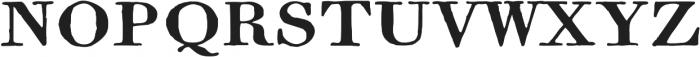 1820 Modern Large ttf (400) Font UPPERCASE
