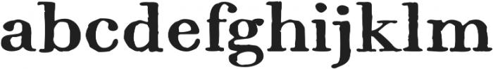 1820 Modern Large ttf (400) Font LOWERCASE