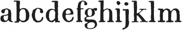 1820 Modern otf (400) Font LOWERCASE