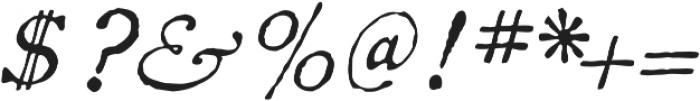 1822 GLC Caslon Pro otf (400) Font OTHER CHARS