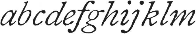 1822 GLC Caslon Pro otf (400) Font LOWERCASE