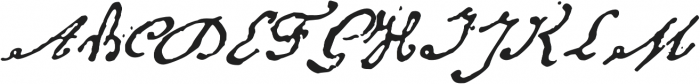 1848 Barricades otf (400) Font UPPERCASE