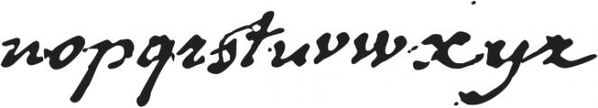 1848 Barricades otf (400) Font LOWERCASE