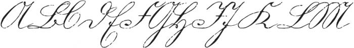 1880 Kurrentshrift Easy otf (400) Font UPPERCASE