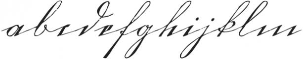 1880 Kurrentshrift Easy otf (400) Font LOWERCASE