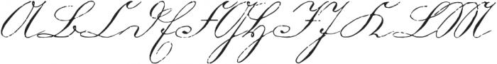 1880 Kurrentshrift otf (400) Font UPPERCASE