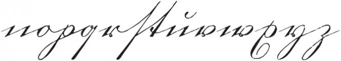 1880 Kurrentshrift otf (400) Font LOWERCASE