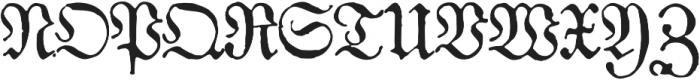1883 Fraktur otf (400) Font UPPERCASE