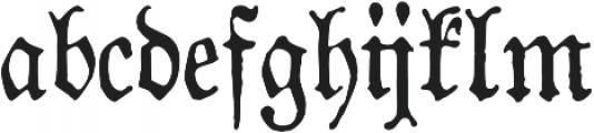 1883 Fraktur otf (400) Font LOWERCASE