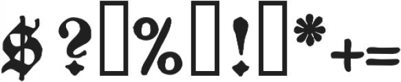 1883 Fraktur otf (700) Font OTHER CHARS