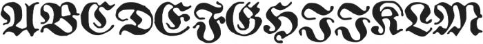 1883 Fraktur otf (700) Font UPPERCASE