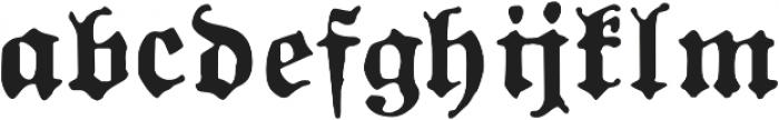 1883 Fraktur otf (700) Font LOWERCASE