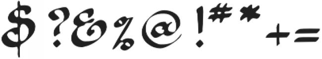 1890 Registers Script otf (400) Font OTHER CHARS