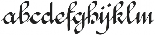 1890 Registers Script otf (400) Font LOWERCASE