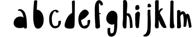 18 for 18   Font Bundle for 2018 5 Font LOWERCASE