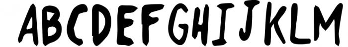18 for 18   Font Bundle for 2018 6 Font UPPERCASE
