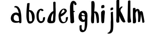 18 for 18   Font Bundle for 2018 6 Font LOWERCASE