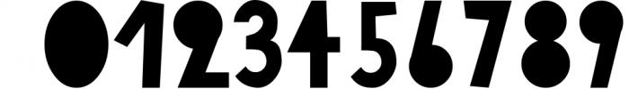 18 for 18   Font Bundle for 2018 7 Font OTHER CHARS