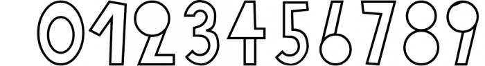 18 for 18 | Font Bundle for 2018 8 Font OTHER CHARS