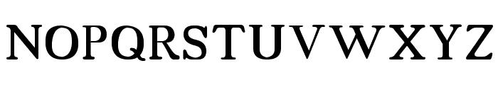 18thCentury Font UPPERCASE