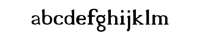 18thCentury Font LOWERCASE
