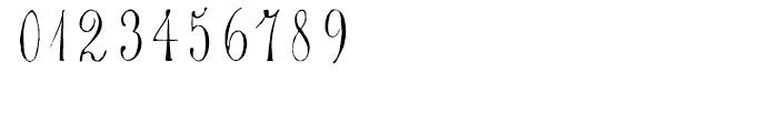 1864 GLC Monogram S - T Font OTHER CHARS