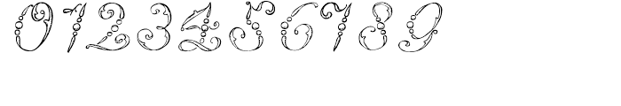 1886 Romantic Initials Font OTHER CHARS