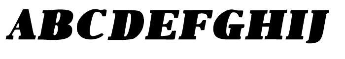 1890 Notice Large Italic Font UPPERCASE
