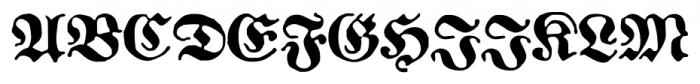 1883 Fraktur Bold Font UPPERCASE