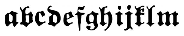 1883 Fraktur Bold Font LOWERCASE