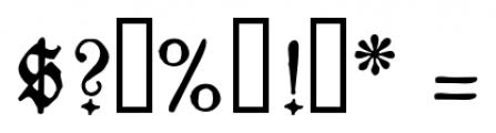 1883 Fraktur Normal Font OTHER CHARS