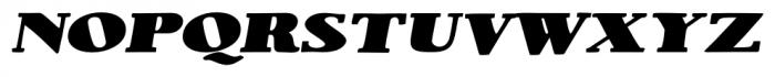 1890 Notice Large Italic Font LOWERCASE