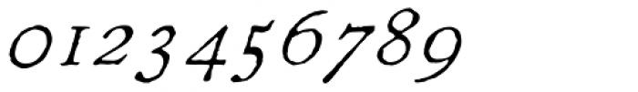 1822 GLC Caslon Italic Font OTHER CHARS