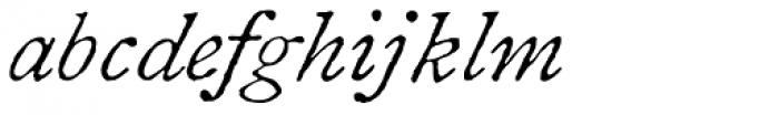 1822 GLC Caslon Italic Font LOWERCASE