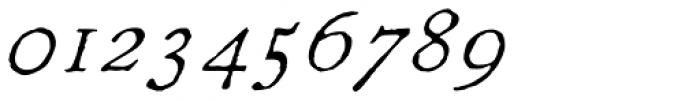 1822 GLC Caslon Pro Italic Font OTHER CHARS