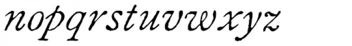1822 GLC Caslon Pro Italic Font LOWERCASE