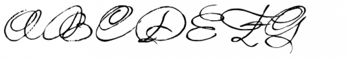 1859 Solferino Light Caps Font UPPERCASE