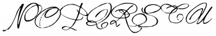 1859 Solferino Light Caps Font LOWERCASE