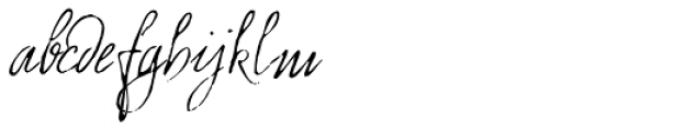 1859 Solferino Light Font LOWERCASE