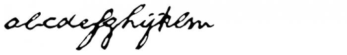 1863 Gettysburg Normal Font LOWERCASE