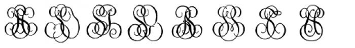 1864 GLC Monogram ST Font UPPERCASE