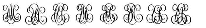 1864 GLC Monogram UV Font UPPERCASE