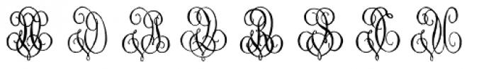 1864 GLC Monogram UV Font LOWERCASE