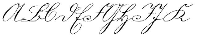 1880 Kurrentshrift Easy Font UPPERCASE